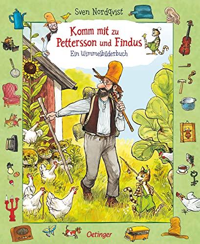 9783789169458: Komm mit zu Pettersson und Findus! Ein Wimmelbilderbuch