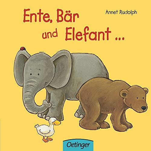 9783789170638: Ente, B�r und Elefant...