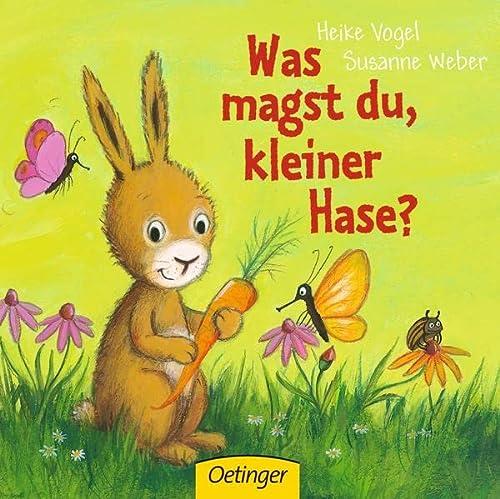 9783789172595: Was magst du, kleiner Hase?