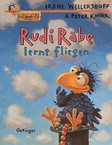 9783789173103: Rudi Rabe lernt fliegen.