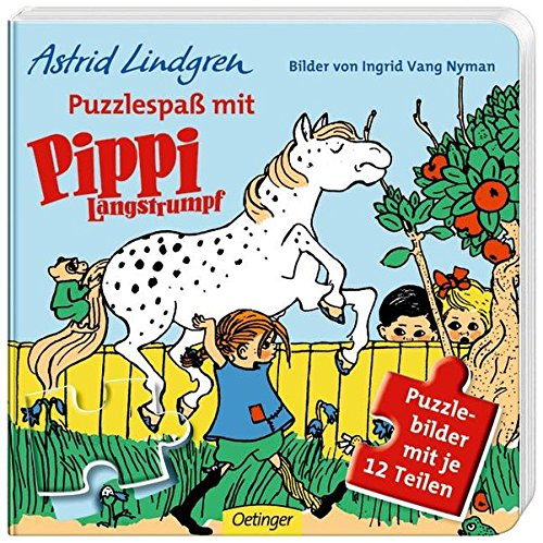 Puzzlespaß mit Pippi Langstrumpf: Astrid Lindgren