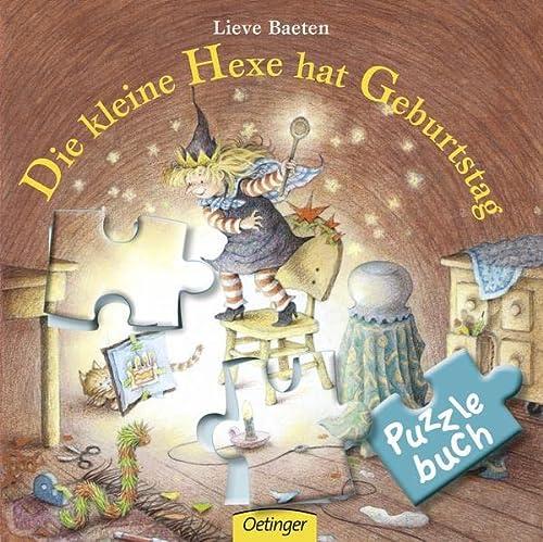 9783789177682: Die kleine Hexe hat Geburtstag - Puzzlebuch