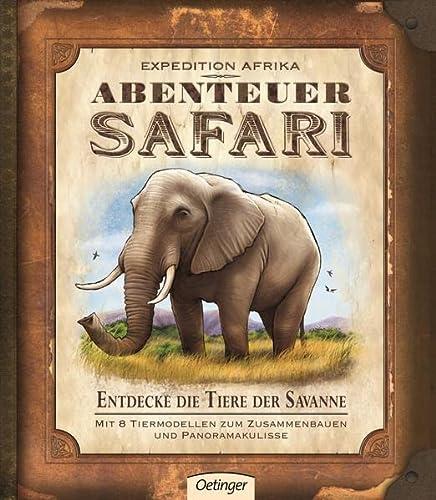9783789184185: Expedition Afrika - Abenteuer Safari: Entdecke die Tiere der Savanne