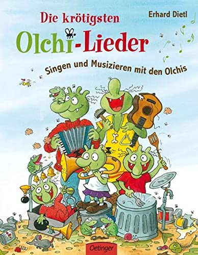 9783789185526: Die krötigsten Olchi-Lieder