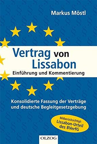 9783789283260: Vertrag von Lissabon: Einf�hrung und Kommentierung