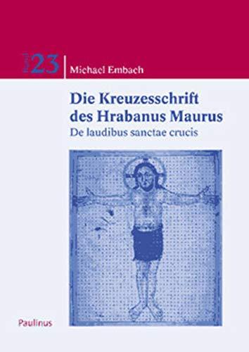 9783790201970: Die Kreuzschrift des Hrabanus Maurus