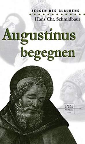 9783790258257: Augustinus begegnen: Zeugen des Glaubens