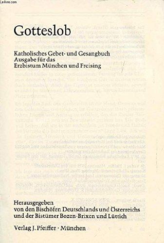 Gotteslob - Katholisches Gebet- und Gesangbuch
