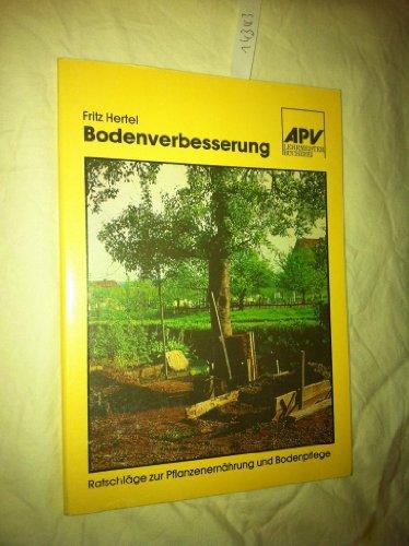 9783790706345: Bodenverbesserung und D�ngung im Gartenbau