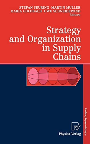 9783790800241: Strategy and Organization in Supply Chains