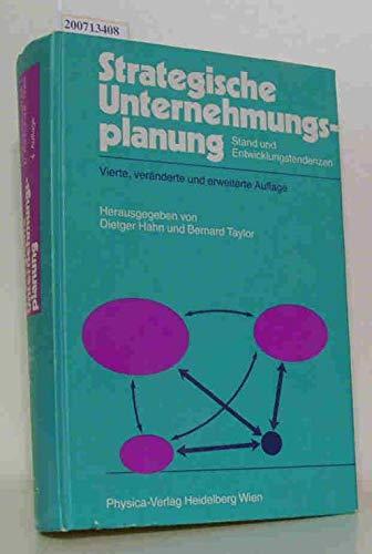 9783790803440: Strategische Unternehmungsplanung: Stand Und Entwicklungstendenzen