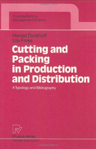 9783790806304: Cutting and Packing in Production and Distribution: A Typology and Bibliography (Contributions to Management Science)