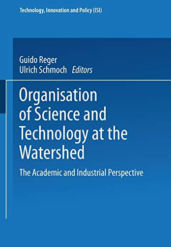Organisation of Science and Technology at the Watershed: Guido Reger