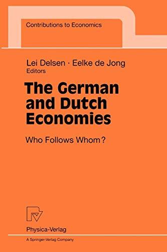 The German and Dutch economies. who follows: Delsen, Lei [Hrsg.]: