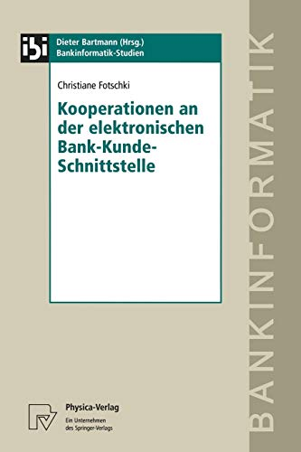 Kooperationen an Der Elektronischen Bank-Kunde-Schnittstelle: Christiane Fotschki
