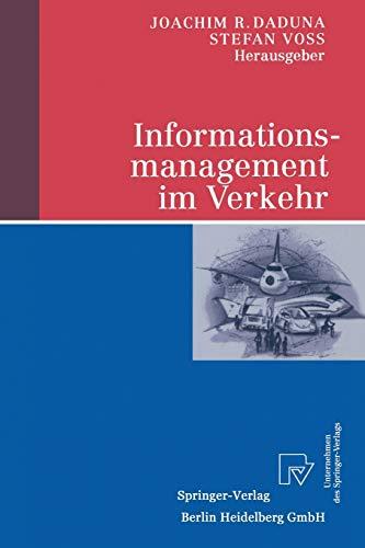 9783790813104: Informationsmanagement im Verkehr (German Edition)