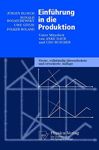9783790813982: Einführung in die Produktion (Physica-Lehrbuch) (Livre en allemand)