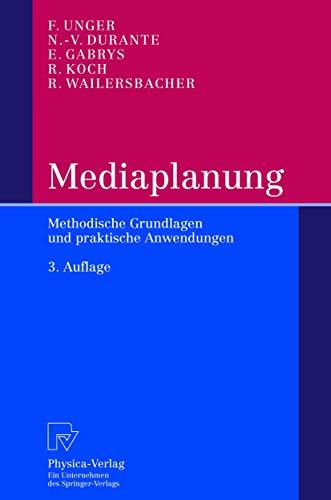 9783790814439: Mediaplanung (Livre en allemand)
