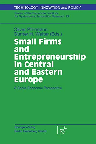9783790814675: Small Firms and Entrepreneurship in Central and Eastern Europe