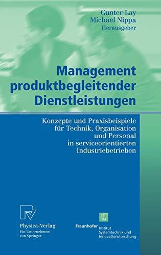 Management produktbegleitender Dienstleistungen: Gunter Lay