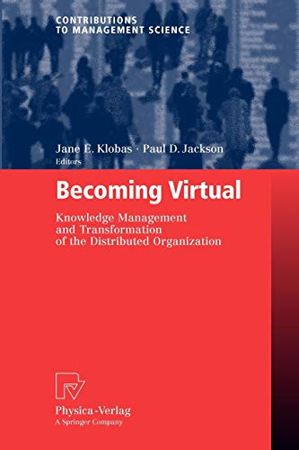 Becoming Virtual: Jane E. Klobas