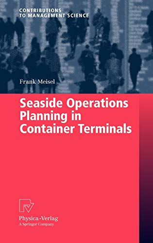 9783790821901: Seaside Operations Planning in Container Terminals (Contributions to Management Science)