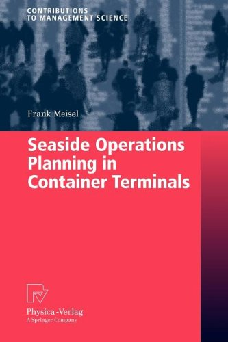 9783790821932: Seaside Operations Planning in Container Terminals