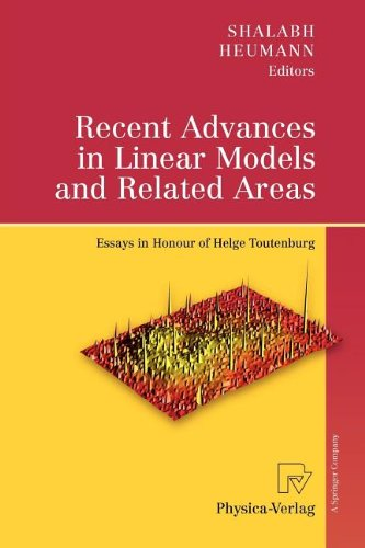9783790823158: Recent Advances in Linear Models and Related Areas