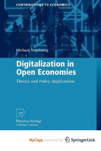 9783790823950: Digitalization in Open Economies: Theory and Policy Implications