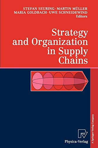 9783790824513: Strategy and Organization in Supply Chains