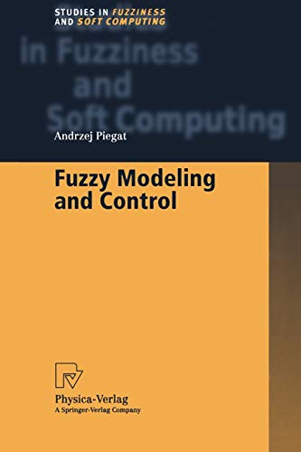 9783790824865: Fuzzy Modeling and Control (Studies in Fuzziness and Soft Computing)