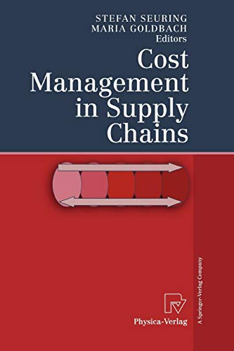 9783790825152: Cost Management in Supply Chains
