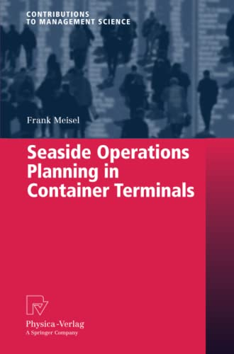 9783790825862: Seaside Operations Planning in Container Terminals (Contributions to Management Science)