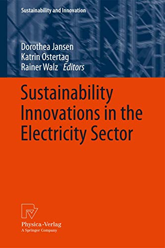 9783790827293: Sustainability Innovations in the Electricity Sector (Sustainability and Innovation)