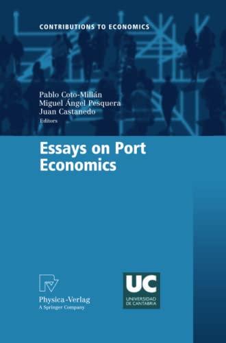 9783790828245: Essays on Port Economics (Contributions to Economics)