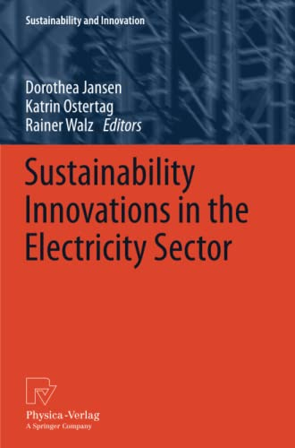 9783790828375: Sustainability Innovations in the Electricity Sector (Sustainability and Innovation)