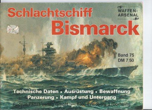 9783790901719: Schlachtschiff Bismarck