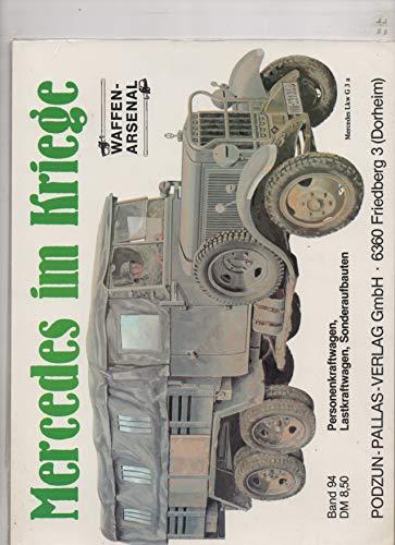 9783790902440: Mercedes im Kriege