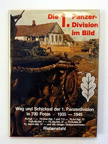 9783790902808: Die 1. Panzer-Division im Bild: 1935-1945