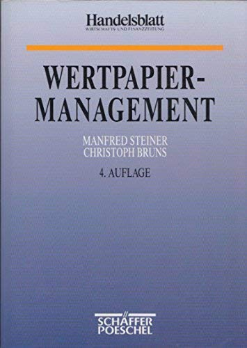 Wertpapiermanagement: Steiner, Manfred ;
