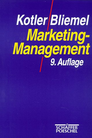 9783791013107: Marketing-Management. Analyse, Planung, Umsetzung und Steuerung