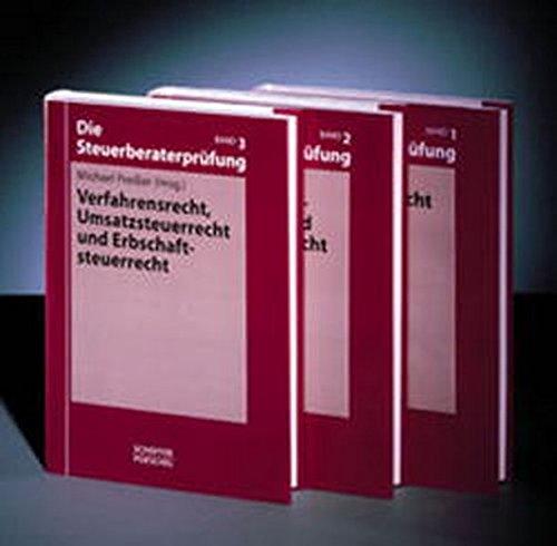 9783791018461: Die Steuerberaterprüfung. Paket.