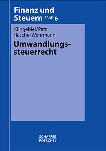 9783791020389: Umwandlungssteuerrecht.