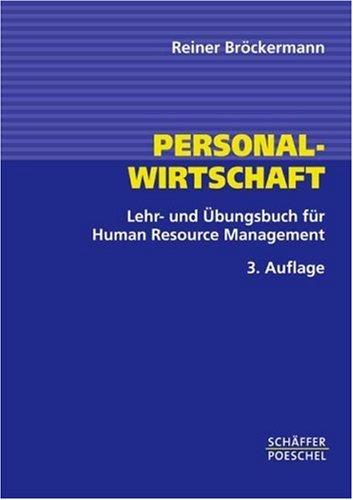 9783791021386: Personalwirtschaft : Lehr- und Übungsbuch für Human-Resource-Management.