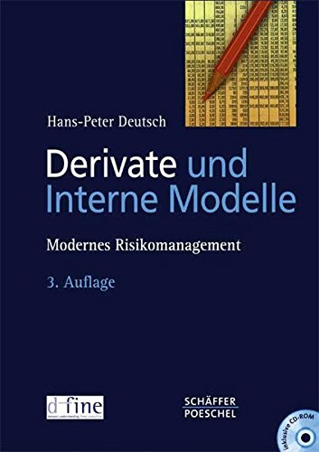 9783791022116: Derivate und Interne Modelle. Modernes Risikomanagement