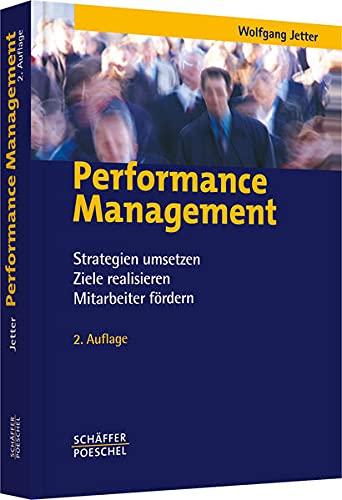 9783791022512: Performance Management: Strategien umsetzen, Ziele realisieren, Mitarbeiter fördern