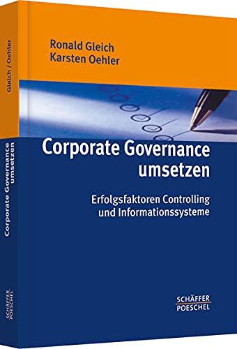 Corporate Governance umsetzen: Ronald Gleich