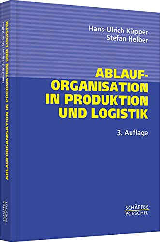9783791023427: Ablauforganisation in Produktion und Logistik