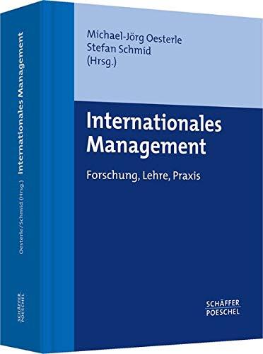 Internationales Management: Michael-J�rg Oesterle