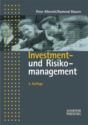 9783791024318: Investment- und Risikomanagement